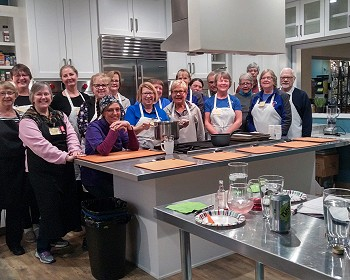 "ST&BF Survivor-Athletes Rewarded with ""Healthful Heating"" Class at Relish Kitche Store!"