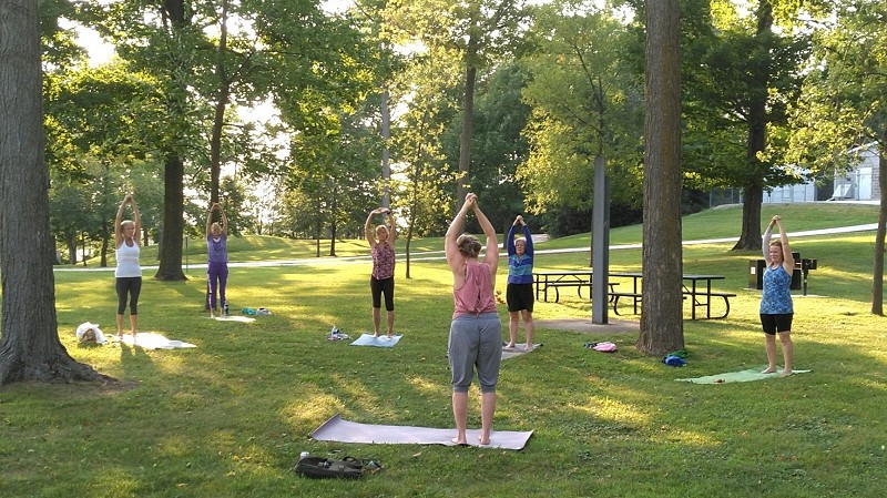 "ST&BF Gentle Yoga for Cancer Survivors Offered VIRTUALLY (via Zoom) and at OUTDOOR ""POP UP"" Sessions!"